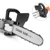 Drillpro Upgrade 4th. 11.5 Inch Chainsaw Bracket for 100 Angle Grinder Woodworking Chain Saw