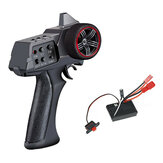 AUSTAR AX7S 2.4G 3CH Transmitter w/ 20A Brushed ESC Receiver for XiaoMi Jimny WPL MN RC Vehicles