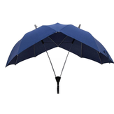 Honana Fancytime Two-pole Casal Umbrella Chuva Mulheres Semi-automático High-end Mulheres Umbrella Dupla Top e Pole Umbrella