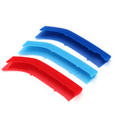 Tricolor Front Car Moulding Trim Strip Cover Decoration ABS Clip For BMW 2 Series F22 F23