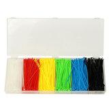 Suleve ™ ZT01 900pcs 100x2mm Kendinden Kilitleme Nylon Kablo Tel Zip Bağlantıları 6 Renk