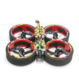 SKYZONE ATOMRC Cinetern CT150 4S 150 mm Exceed F405 Controlador de vuelo 20A 4 en 1 ESC 1408 4000KV motor PNP Cinewhoop FPV Racing Drone
