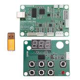 M2 Nano Láser Controlador Placa principal Madre + Panel de control + Sistema Dongle B Grabador Cortador DIY 3020 3040 K40
