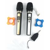 UHF Wireless Karaoke Microphone System Handheld Mic with Receiver