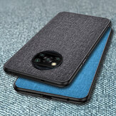 Bakeey Business Breathable Canvas Sweatproof Shockproof TPU Protective Чехол для POCO X3 NFC Неоригинальный