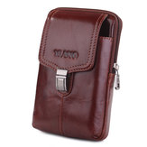 Genuine Leather Hip Belt Clip Phone Pouch