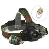 XANES 2401 500 Lumens XPE Led Bicicleta Farol Infinito Zoom Outdoor Sports HeadLamp 3 Modes