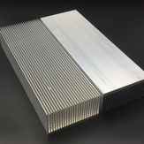 Aluminum Alloy Heatsink Cooling Pad for High Power LED IC Chip Cooler Radiator Heat Sink 230*80*27mm /150*80*27mm / 100*80*27mm