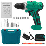 6000mAh 48V Electric Drill Dual Speed Rechargeable Power Tool W/ 1/2pc Battery
