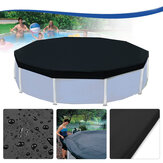 3.6m 12 Feet Protective Black Pool Cover for Above Ground Frame Swimming Pools