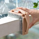Honanaالصفحةالرئيسيةالإبداعيةطويمقبض يده الإسفنج نافذة الحمام حوض تنظيف فرشاة