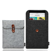 Soft wolvilt Multifunctionele Flip Shockproof Storage Sleeve Bag voor iPad Mini 1 & 2 & 3 & 4