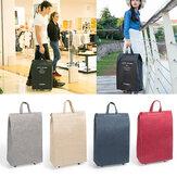 2 In 1 Pulley Bag Einkaufstasche Tragbare Gepäck Tasche Camping Travel Storage Handtasche