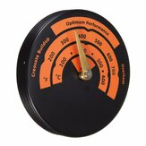 Magnetic Stove Thermometer Oven Temperature Meter for Wood Burning Stoves Gas Stoves