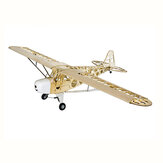 Dancing Wings Piper J3 Cub 1800mm Kit de Avion RC En Bois Balsa Envergure Coupe au Laser