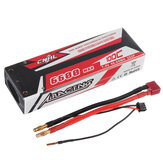 CNHL RACING SERIES 7.4V 6600mAh 100C 2S Bateria Lipo T Plug do samochodu RC