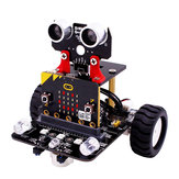 Micro:bit STEM Smart Programmable Educational Robot Car Kit With Development Board