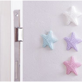 Starfish Silicone Door Knob Mute Luminous Elastic Stickers Crash Buffer Wall Protector Stickers