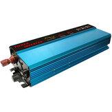 6000Wピーク純粋正弦波ソーラーパワーインバーター12 / 24VDCから110VACコンバーターデジタルディスプレイ