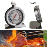 50-300℃ Stainless Steel Thermometer Oven Table Safety Bimetal Temperature 100-600℉ Oven Instrument BBQ Thermometer