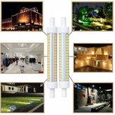 AC220-240V 10W dimmerabile R7S SMD2835 102LED lampadina del mais del proiettore per la decorazione domestica dell'interno dell'interno