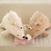 4 estilos de dibujos animados lindo de peluche oso polar muñeca PP algodón relleno decoración para el hogar juguetes de peluche infantil