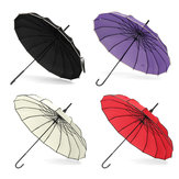 Vintage Pagoda Parasol Bridal Wedding Party Sol Rain Rain Rain Umbrella