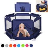 安全ゲートが付いている6つの味方された折り畳み式の赤ん坊のPlaypenのプレイングハウスの相互子供の幼児部屋