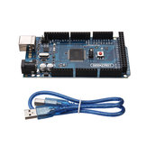 3Pcs MEGA 2560 R3 ATmega2560-16AU MEGA2560 Development Board With USB Cable