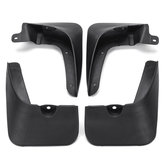 4Pcs Front And Rear Mud Flaps Car Mudguards For Kia Rio 2006 - 2011 Sedan