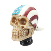 Car Skull Head Manual Transmission Gear Shift Knob Skull Shifter Lever