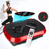 110V 200W Fitness Vibration Machine Slim Exercise Platform Remote Body Massager Trainer Equipment Gym Home