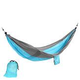 IPRee® 250x140cm Rede para duas pessoas Parachute Cama de dormir suspensa Cama de dormir Cadeira de balanço ao ar livre Viagem em acampamento