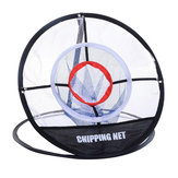 Mesh На открытом воздухе Indoor Golf Training Net Chipping Pitching Practice Net Cage Portable Hitting Aid