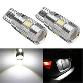 T10 W5W 5630 LED Car Side Marker Lights Canbus Error Free Wedge Bulb Lamp 12V 2.5W White 2Pcs