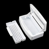 Clean Sterilizer Tray Box Nail Art Set Salon Manicure Implement Tool Sterilizing Machine
