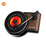 TITA Turntable Phonograph Car Fragrance Car Air Freshener with 3pcs Replace Aromatherapy Tablets