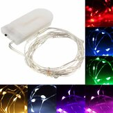 2M 20LED Koper String Fairy Licht Batterij Powered Xmas Light Party Trouwlamp