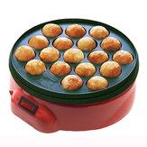18 Holes Takoyaki Grill Pan Cooking Plate Stove Machine Octopus 650W 220V Kitchen Cooking Machine
