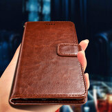 Bakeey Flip Card Slot Wallet PU Leather Schockproof Protective Case For Sharp Aquos S2