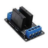 2 Channel DC 12V Relay Module Solid State High and low Level Trigger 240V2A