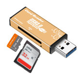 Universal Metal USB 3.0 High Speed TF Memory Card SD Card Reader for Tablet Computer
