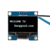 Geekcreit 1.3 Inch 4Pin White OLED LCD Display 12864 IIC I2C Interface Module For