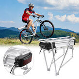 [EU Direct] HyaniteQ HA074-04 Vélo électrique Batterie 36V20Ah 720W Lithium-Li-ion rechargeable Batterie avec cadre de vélo arrière Feu arrière pour vélo électrique