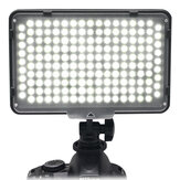 Mcoplus LE-168A Dimmable Studio LED Video Light 3200k/5500k Photography Fill Light Lighting Lamp for DSLR Camera