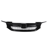 Sport Style Front Car Grille Front Bumper For 16-17 9th Gen HD Accord Sedan Glossy Black JDM