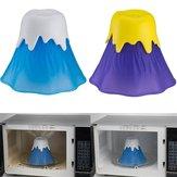 Honana Creative Volcano Modeling Microwave Oven Cleaning Tools Microwave Oven Cleaner