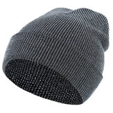Men Women Winter Ski Crimping Earmuffs Knit Hat