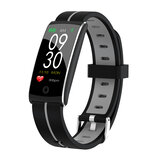 Bakeey F10+ Fashion Color Heart Rate Blood Pressure Oxygen Intelligent Message IP68 Smart Watch