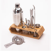 10 stks Cocktailshaker Set Maker Mixer Martini Spirits Bar Zeef Barman Kit